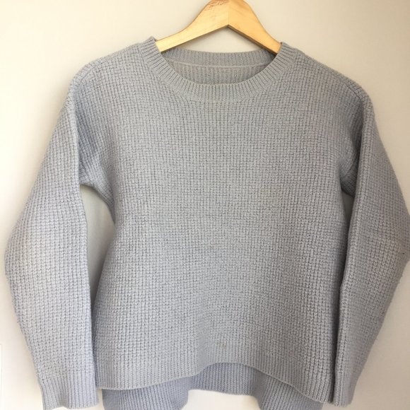 Lavender Grey Sweater - perfect for Fall/Winter